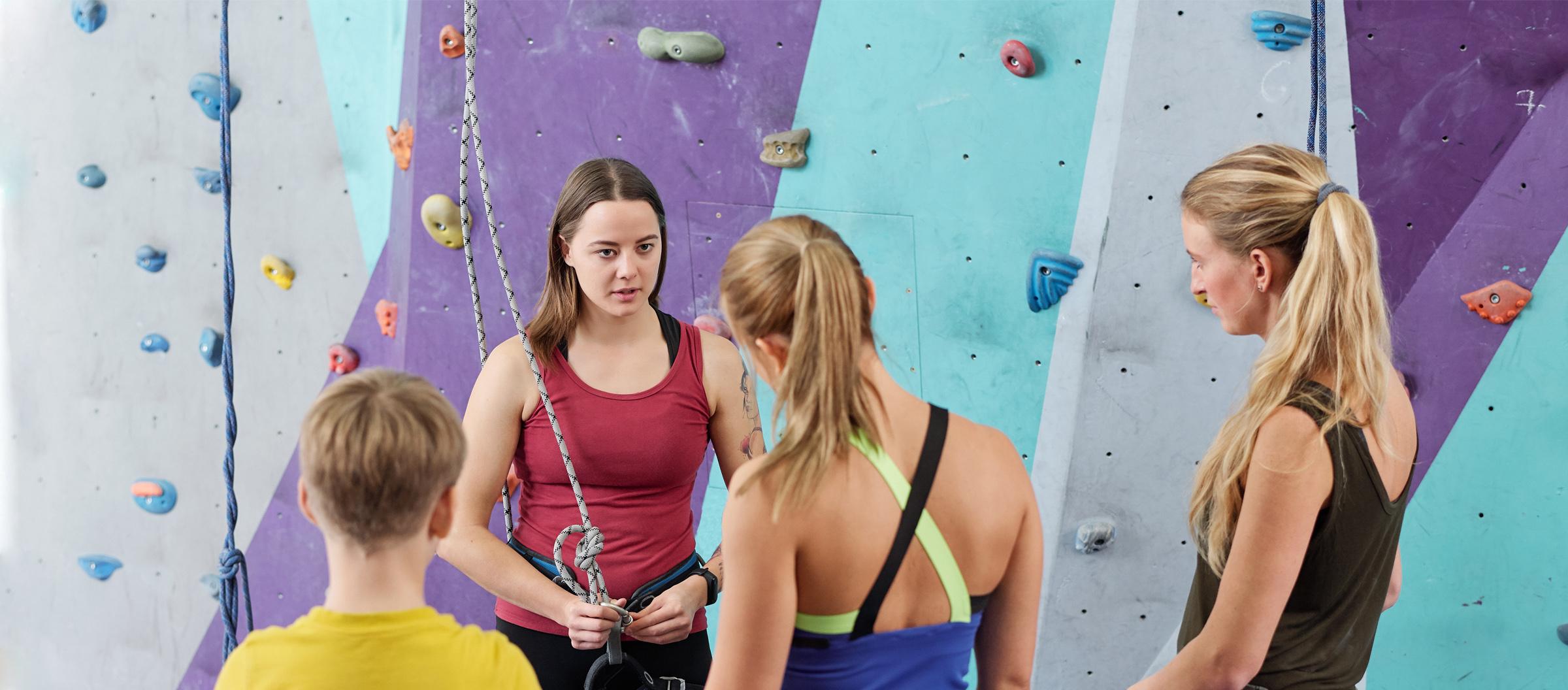 Climbing Wall Instructor Training