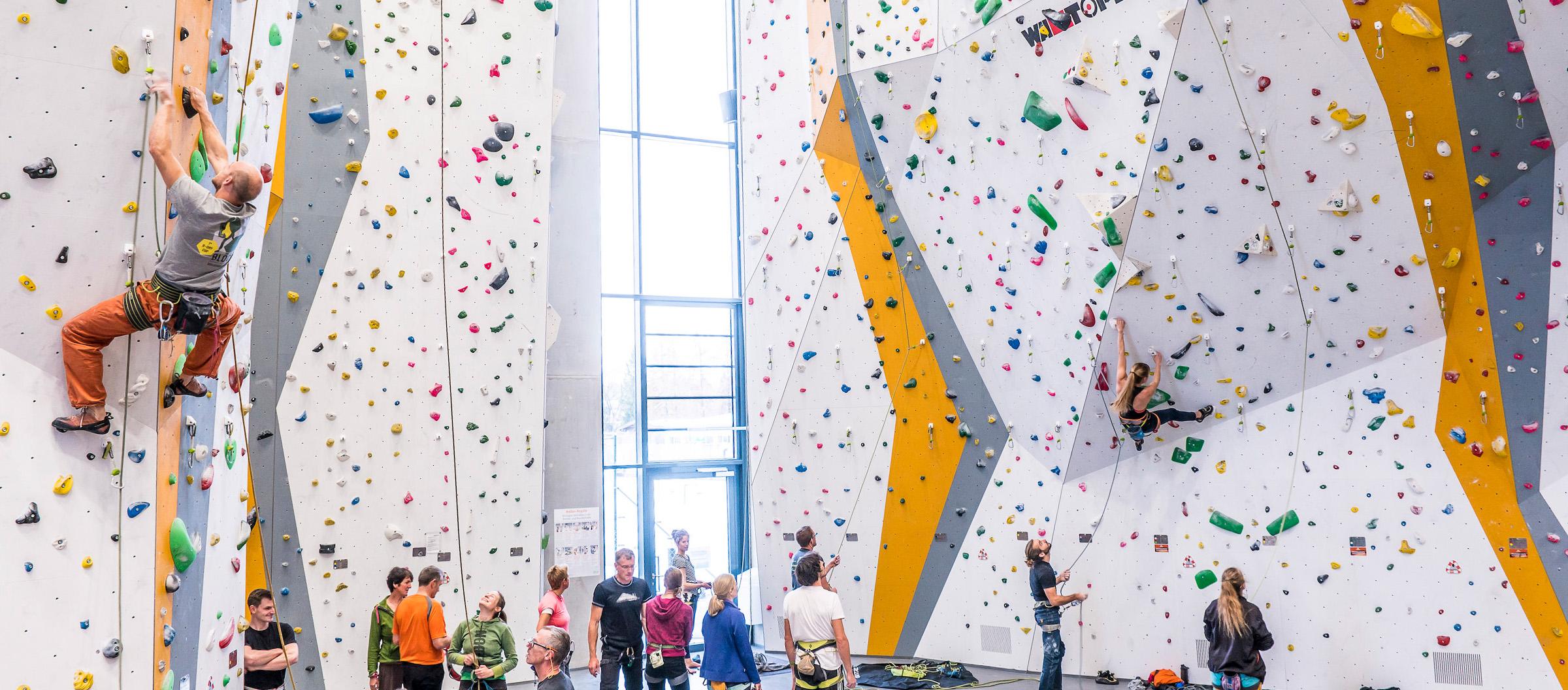 Climbing Wall Instructor Assessment